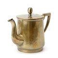 Old copper kettle Royalty Free Stock Photo