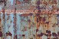 Old corroded steel surface Royalty Free Stock Photo