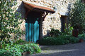 Old cottage entrance Royalty Free Stock Photo
