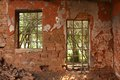 Old Cottage windows Royalty Free Stock Photos