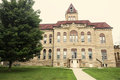 Old courthouse in carrollton greene county illinois united states Royalty Free Stock Photo