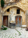 Old courtyard house Royalty Free Stock Photo