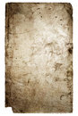 Old cover of book isolated on white Stock Image