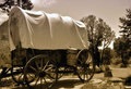 Old covered wagon Royalty Free Stock Images