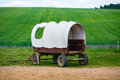 Old covered wagon Royalty Free Stock Photo