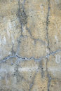 Old cracked concrete wall Stock Photo