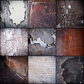 The old crackled walls Royalty Free Stock Photos