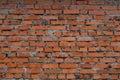 Old crooked brick walls Royalty Free Stock Photo