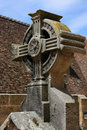 Old cross in Cathedral in Autun Royalty Free Stock Photos