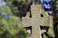 Old cross in cemetery Royalty Free Stock Photos