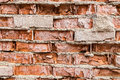 Old crumbling brickwork Royalty Free Stock Photo