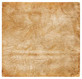 Old crumpled leather Stock Images