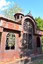 Old crypt in Kirillo-Belozersky monastery by day. Royalty Free Stock Photo