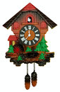 Old cuckoo clock Royalty Free Stock Photo