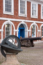 Old custom house the excise on the historic quayside at exeter in devon uk Royalty Free Stock Image