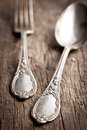 Old cutlery Royalty Free Stock Photo
