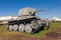 Old czech tank lt vz pzkpfw t togliatti russia may at the exhibition in the technical museum on may in togliatti russia Royalty Free Stock Images