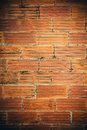 Old and damaged brick wall making background Royalty Free Stock Image