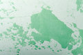 Old Damaged Cracked Paint Wall, Grunge Background, green pastel color Royalty Free Stock Photo