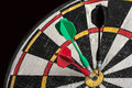 Old dart board Royalty Free Stock Photo