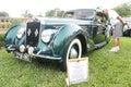Old delage car at the car show premier in lakeland florida Stock Image