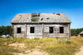 Old deserted farm house Royalty Free Stock Photo