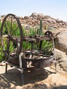 Old device in Namibiam farm Stock Images