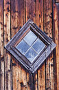 Old Diamond Shaped Barn Window