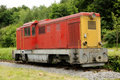 Old diesel locomotive Stock Image