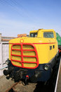 Old Diesel Locomotive Stock Photos