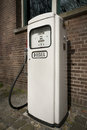 Old diesel pump Royalty Free Stock Photos