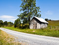 Old Dirt Road - Virginia Stock Photo