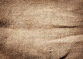 Old dirty burlap texture brown Stock Photos