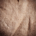 Old dirty burlap texture brown Stock Photo