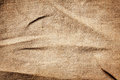 Old dirty burlap texture crumpled Stock Photos