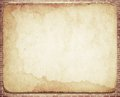 Old dirty vintage  parchment with stained texture Royalty Free Stock Photo