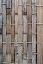 Old and dirty woven bamboo surface texture background Royalty Free Stock Images