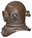 Old diving helmet Royalty Free Stock Photo