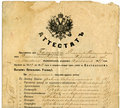 Old document  Paper Texture Royalty Free Stock Image