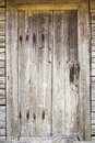 Old door in abandoned house see my other works portfolio Stock Photography