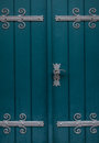 The old door of a church Royalty Free Stock Photo