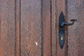 Old door detail of an wooden Stock Photography