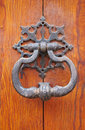 Old door knocker Royalty Free Stock Photo