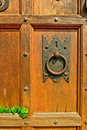 Old Door Knocker Royalty Free Stock Photography