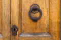 Old door knocker in Florence Royalty Free Stock Photo