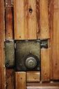 Old door lock Royalty Free Stock Photo