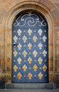 Old door  - Prague Stock Image