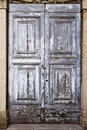 Old Door With Texture Stock Image