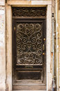 Old door in venice an and pictoresque italy Stock Images