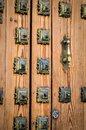 Old doors close up view Royalty Free Stock Photo